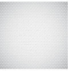White metal background vector