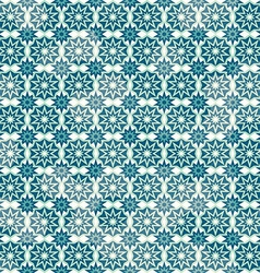 Retro snow seamless pattern vector