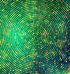 Emerald halftone background vector