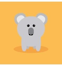 Cute Cartoon Koala vector image