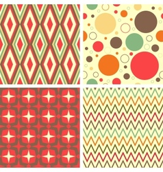 Abstract geometric pattern set vector