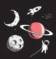 Collection set of space elements vector