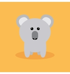 Cute Cartoon Koala vector image