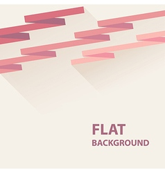 flat background 8 vector image vector image