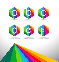 Letter logo design vector