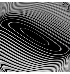 Design monochrome whirl movement background vector