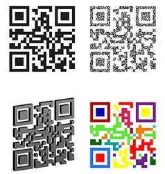 qr code 05 vector image vector image