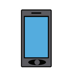 Smartphone mobile device display technology vector