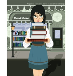 Women readers vector