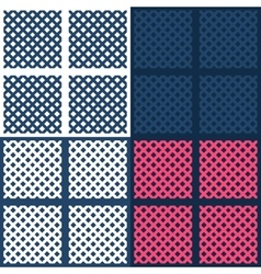 Simple geometrical irregular basket texture vector