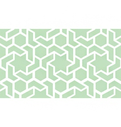 Geometric interlaced pattern vector