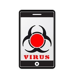 Mobile phone with virus vector