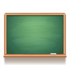 Blank blackboard vector image vector image
