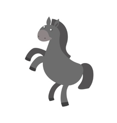 Cartoon Horse or Pony vector image vector image