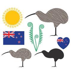 New Zealand vector image