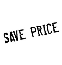 save price rubber stamp vector image