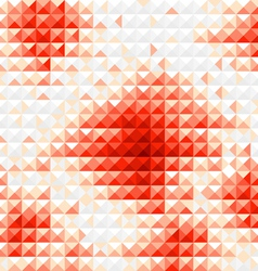 Red diamond mosaic background vector image