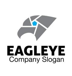 Eagle eye design vector