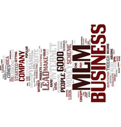 Evaluate a mlm business lead text background word vector