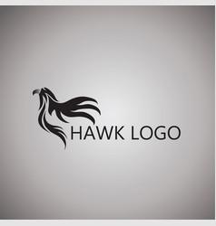 Hawk logo ideas design vector