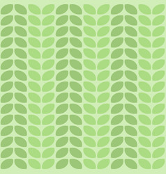 seamless decorative leaf pattern design vector image vector image