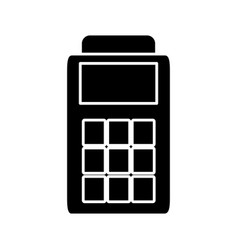 Dataphone device icon vector