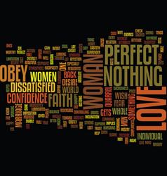 Love and faith text background word cloud concept vector