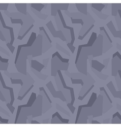 Geometric dark-grey camouflage seamless pattern vector image