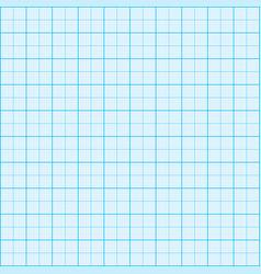 blue graph paper coordinate paper grid paper squar vector image vector image