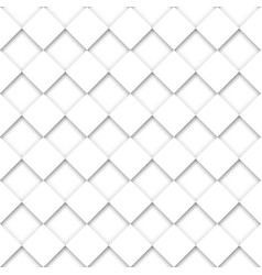 Seamless abstract volumetric plaid pattern vector