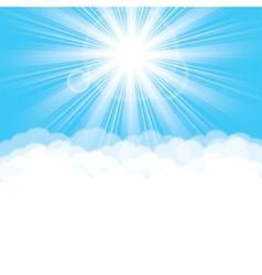sunlight vector image