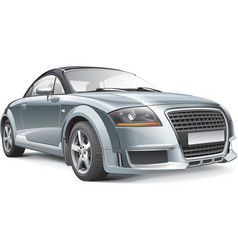 Germany compact sport car vector image