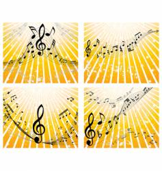 music stuff vector image