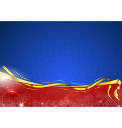 christmas background two color two vector image