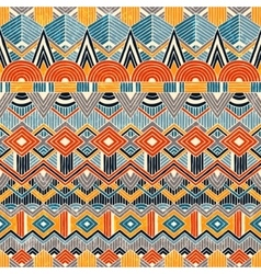 Ethnic seamless pattern Hand drawn Abstract vector image