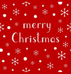 Merry christmas lettering design baner vector