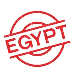 Egypt rubber stamp vector