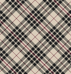 Blackberry tartan seamless diagonal pattern vector