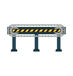 Barrier icon under contruction design vector