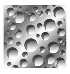 abstract perforated seamless pattern background vector image