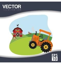Farm icon design vector