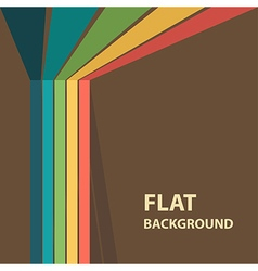 flat background 9 vector image vector image
