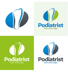 podiatrist vector image vector image