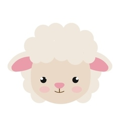 Sheep animal cartoon vector