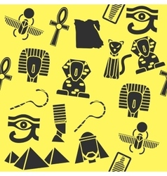 Collage of flat design egypt vector