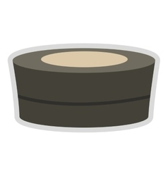 Spa hot tub icon vector