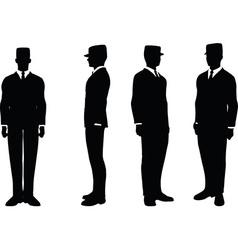 Businessman attention vector