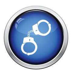 Handcuff icon vector image