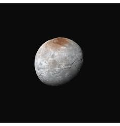 Realistic charon moon vector