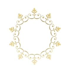 Seal stamp ornament design vector